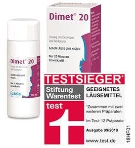 Dimet 20 - Testsieger bei Stiftung Warentest